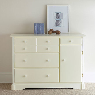 Rockland Hartford Changing Table - Antique White