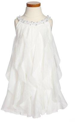 Biscotti 'Princess' Ruffled Dress (Little Girls & Big Girls)