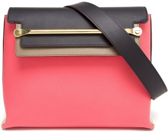 Chloé Clare Contrasting Leather Handbag