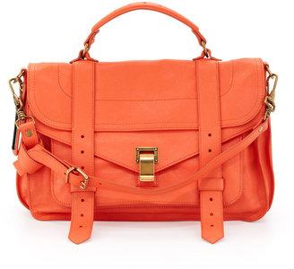 Proenza Schouler PS1 Medium Satchel Bag, Grapefruit