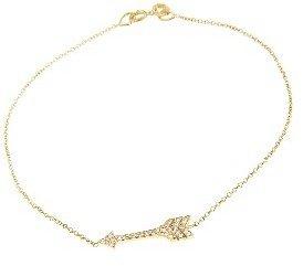 Jennifer Meyer Diamond Arrow Bracelet - Yellow Gold