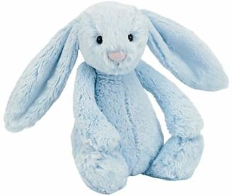 Jellycat Bashful Bunny Soft Toy, Medium, Blue