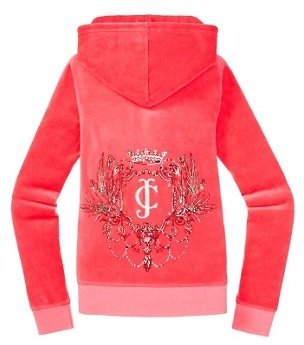 Juicy Couture Original Jacket in Iconic Chandelier Velour