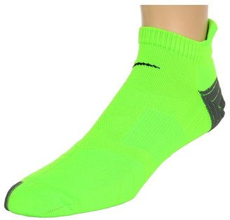 Nike - Elite Running Cushion No Show Tab 1-Pair Pack (Electric Green) - Footwear