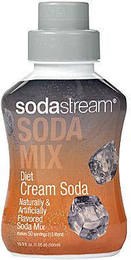 Sodastream Diet Cream Soda Flavored Soda Mix