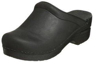 Dansko Women's Sonja Oiled Leather Clog,Black,41 EU / 10.5-11 B(M) US
