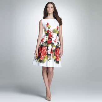 Jones New York Cut Away Corset Dress