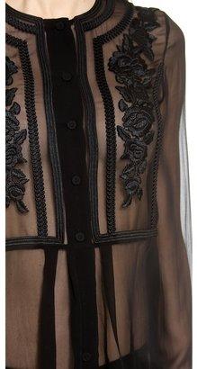 Alberta Ferretti Collection Long Sleeve Blouse