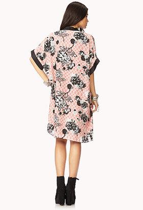 Forever 21 Free Spirit Floral Kimono