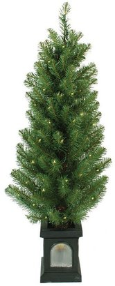 Sterling 4-ft. concord pine potted pre-lit christmas tree