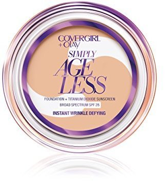 COVERGIRL & OLAY Simply Ageless Instant Wrinkle Defying Foundation, Soft Honey .4 oz (12 g) $13.40 thestylecure.com