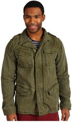 Scotch & Soda Outdoor Military Jacket (Army) - Apparel