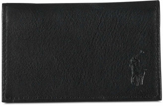 Polo Ralph Lauren Men Accessories, Pebbled Leather Slim Id Card Case