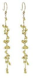 Ten Thousand Things Long Quasar Earrings - 18 Karat Gold