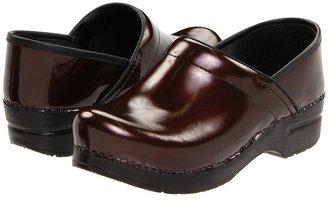 Dansko Professional Pearlized Patent (Brown Pearlized Patent) - Footwear