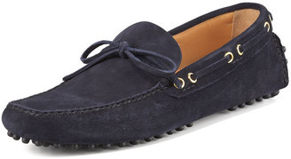 Car Shoe Classic Suede Driver, Navy