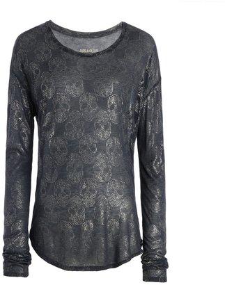 Zadig & Voltaire T Shirt Axy Metal Deluxe