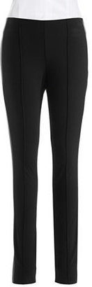 Vince Camuto Ponte Pants with Faux Leather Paneling