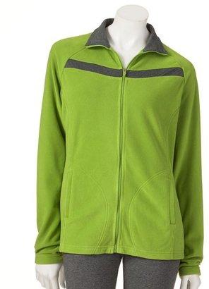 Danskin fabulous microfleece jacket