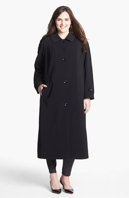 Gallery 'Napage' Long Coat with Detachable Hood & Liner (Plus Size)