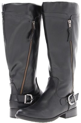 LifeStride X-Press # 2 (Wide Calf) (Black) - Footwear