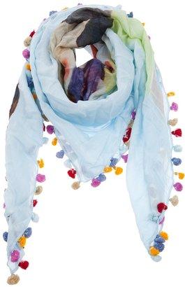 Faliero Sarti 'pinocchio' print scarf