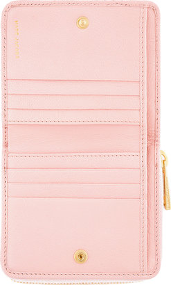 Marc Jacobs Pink Quilted Leather Anabela Wallet
