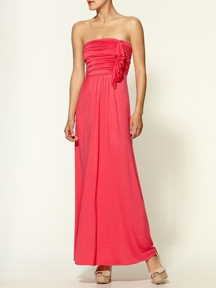 Tinley Road Ruffle Front Maxi