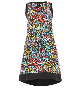 Marc by Marc Jacobs Jungle printed silk-crepe dress