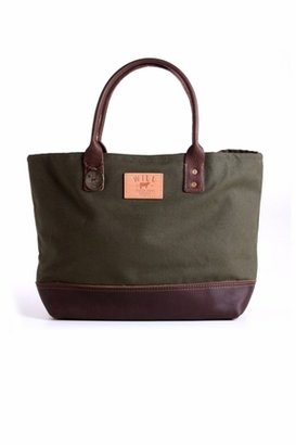 Will Leather Goods Utility Tote in Olive