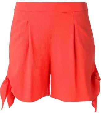 MSGM bow detail shorts