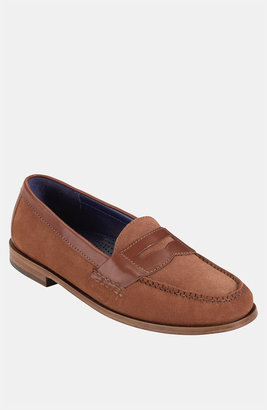Cole Haan 'Pinch' Penny Loafer Rust Suede/ Rust 10.5 D