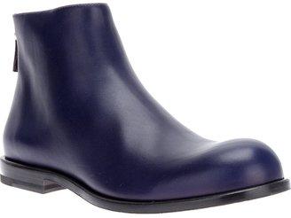 Jil Sander leather ankle boot