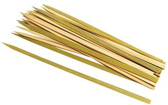 "Steven Raichlen Best of Barbecue Wide Bamboo Grilling Kabob Skewers 12"" (Set of 25)-Tan"