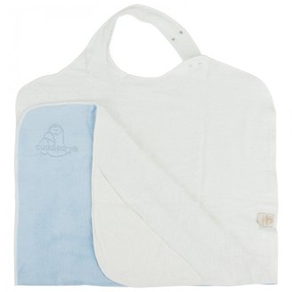 Hippy Chick Hippychick Cuddledry Blue Hooded Towel