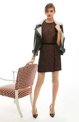 Nordstrom Miss Wu 'Gallone' Jacquard Dress Exclusive)