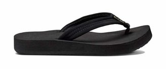 Reef Women's Sandals Cushion Breeze   Synthetic Nubuck Strap with Soft Webbing Liner   Black/Black   Size 8