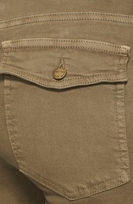 Current/Elliott 'The Flat Pocket Cargo' Skinny Ankle Jeans (Vintage Army)
