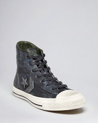 Converse by John Varvatos USA Player Leather High Top Sneakers