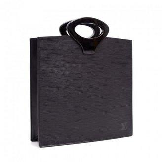 Louis Vuitton excellent (EX Ombre Black Epi Leather Tote Bag