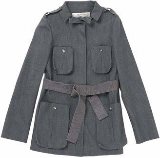 Valentino Grey Cotton Jackets