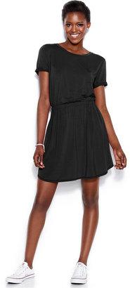 Rachel Roy Short-Sleeve T-Shirt Dress