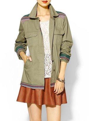 Juicy Couture Rhyme Los Angeles Tribal Traveler Jacket