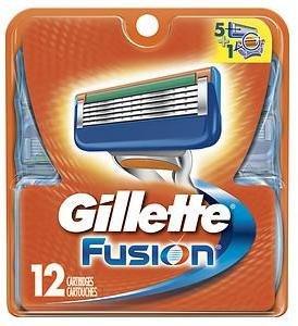 Gillette Fusion Razor Refill Cartridges