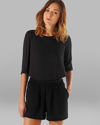 Maje Jumpsuit - Relaxed with Elastic Waist