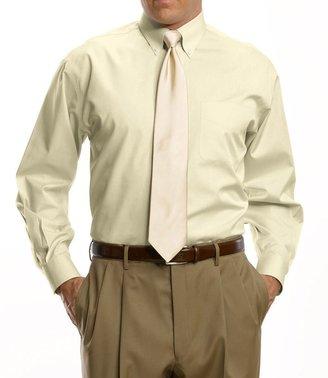 Oxford Pinpoint Buttondown Collar Dress Shirt