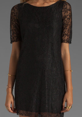 Patterson J. Kincaid PJK Nicole Lace Shift Dress