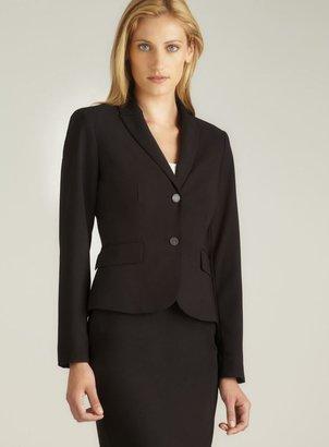 Calvin Klein Two Button Black Blazer