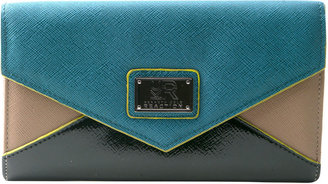 Kenneth Cole Reaction Greenwich Ave Flap Clutch