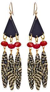 Bellissima Tribal Drop Earrings